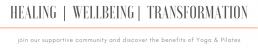 Healing Wellbeing Transformation